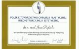 dr Rykała - certyfikat 1