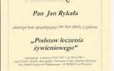dr Rykała - certyfikat 28
