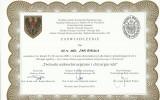 dr Rykała - certyfikat 32